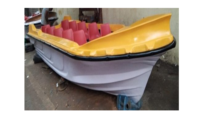 MULTI SEATER MOTOR BOAT (10 SEATER) WITHOUT ENGINE