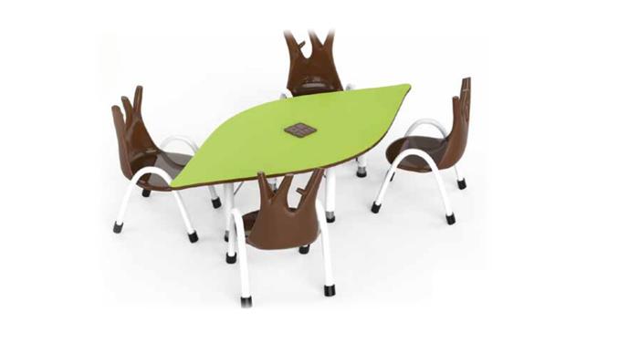 PARTH LEAF TABLE CHAIR