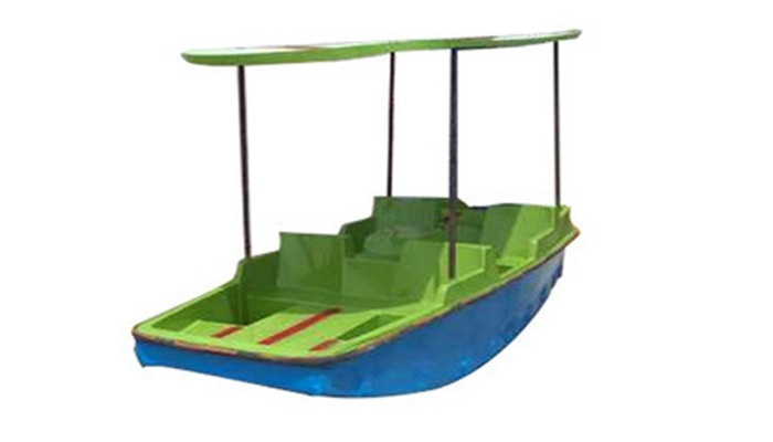 FRP CAR MODEL BOAT