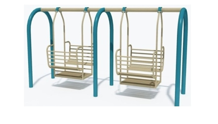 DOUBLE SIX SEATER PARTY SWING