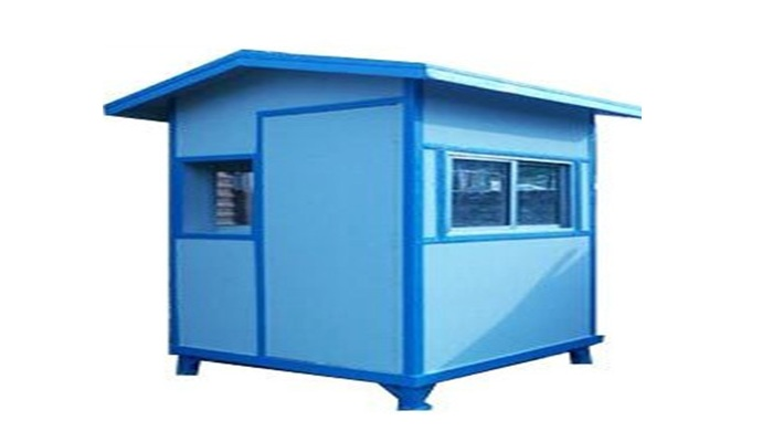 FRP SECURITY CABIN  (4' x 4' x 8')
