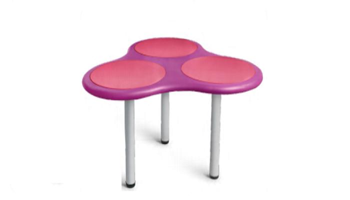 THREE BUMP TABLE