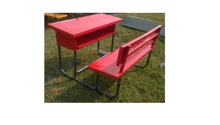 FRP TWO SEATER DESK BENCH