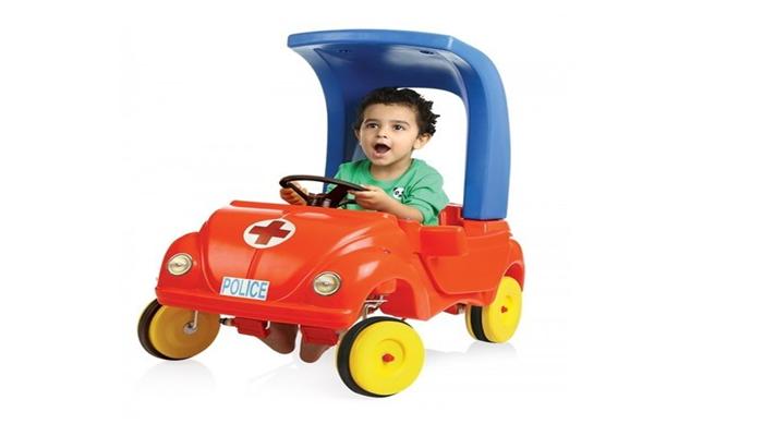 PARTH MINI POLICE CAR